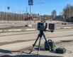 Передвижная камера контроля за скоростью на улице Фильтри в Таллинне.