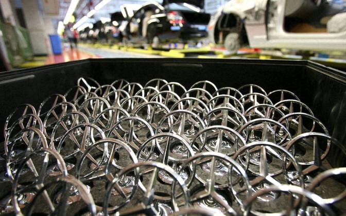Mercedese tehas Lõuna-Saksamaal Sindelfingenis.