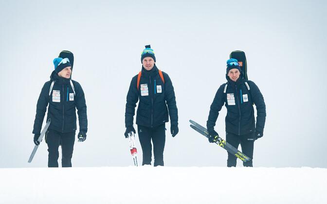 Rene Zahkna, Martin Remmelg ja Kalev Ermits