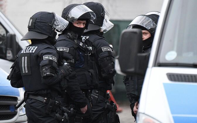 Saksa politsei.