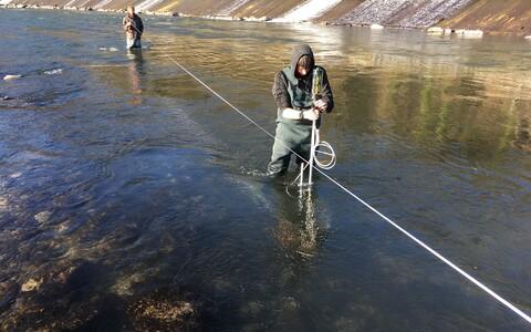 Välitööd ehk robotkala mõõtmas, mida kala tunneb hüdroelektrijaamas.