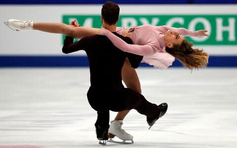 Gabriella Papadakis ja Guillaume Cizeron 2019. aasta MM-il