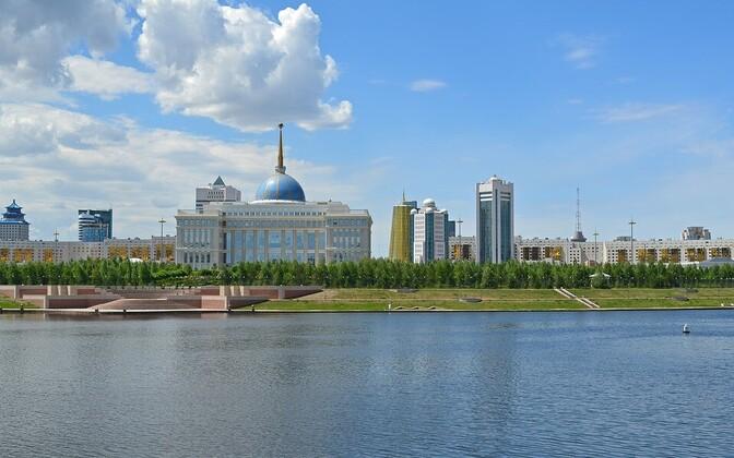 Столица Казахстана Астана. Иллюстративная фотография.
