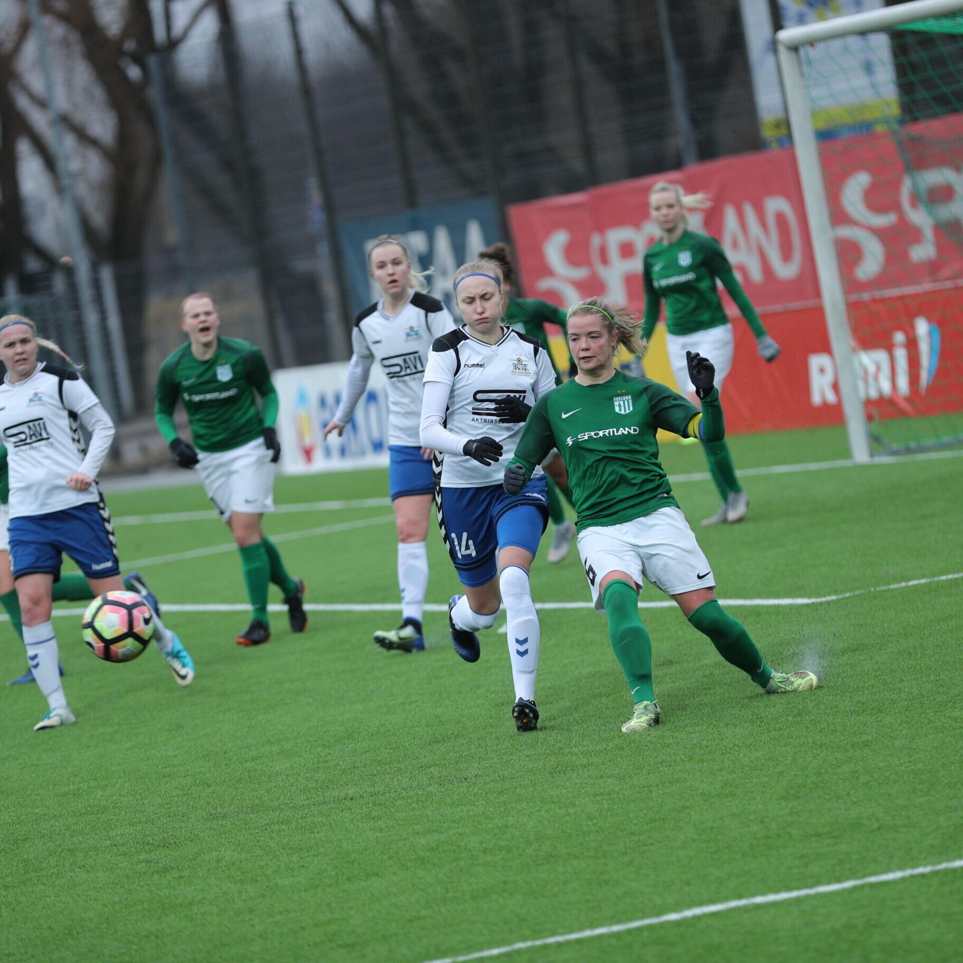 f0358d8a526 Täna pannakse pall mängu naiste jalgpalli meistriliigas | Jalgpall | ERR