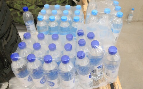 Crisis supplies should include stocks of potable water.