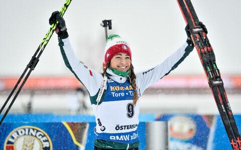 Итальянская биатлонистка Доротея Вирер.