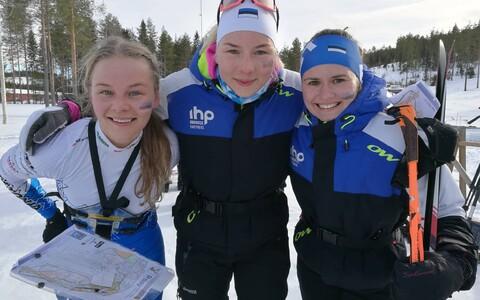 Eesti teatenaiskond Daisy Kudre, Doris Kudre, Epp Paalberg