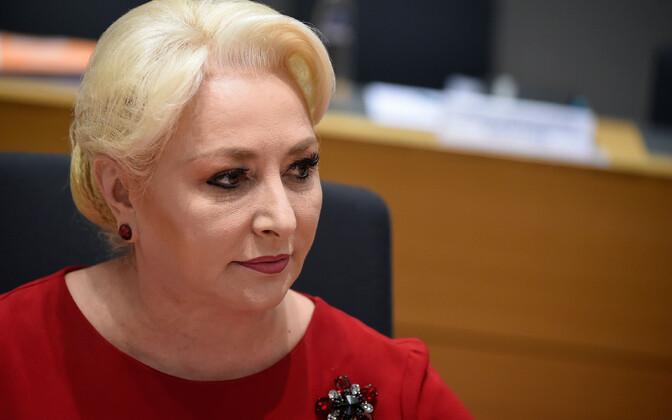 Rumeenia peaminister Viorica Dancila.