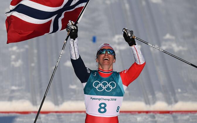 Marit Björgen lõpetas karjääri kaheksa olümpiakullaga.