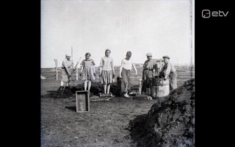 Pilt Johanna Rannula koostatud märtsiküüditamise aastapäeva näitusel.