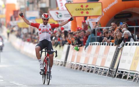 Avaetapi võitnud Thomas de Gendt
