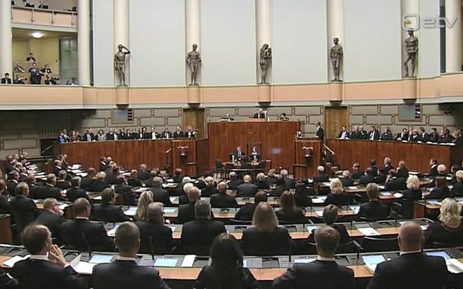 Soome parlament.
