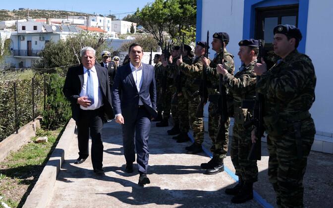Kreeka peaminister Alexis Tsipras visiidil Agathonisi saarel.