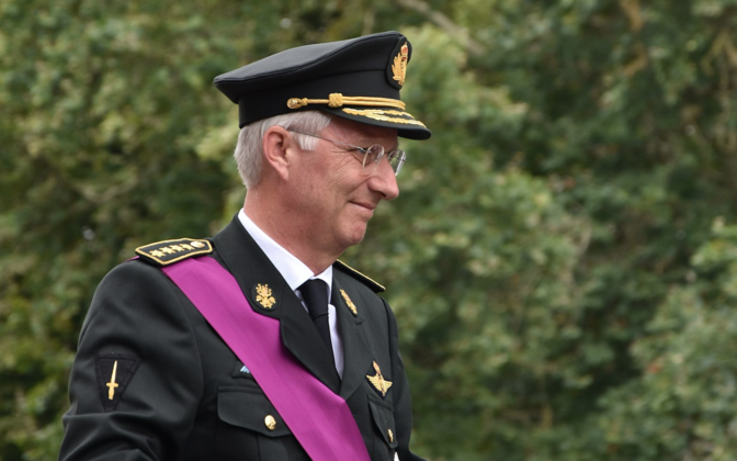 Philippe, King of the Belgians.