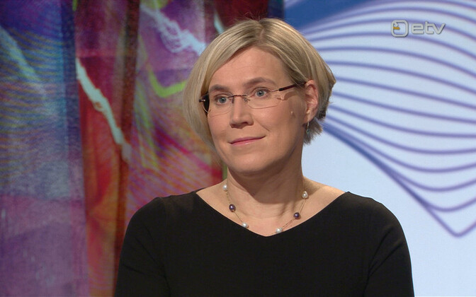 Chancellor of Justice Ülle Madise.