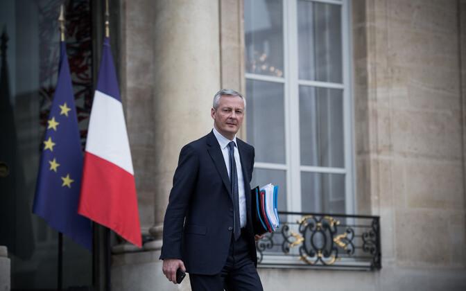 Prantsusmaa majandus- ja rahandusminister Bruno Le Maire.