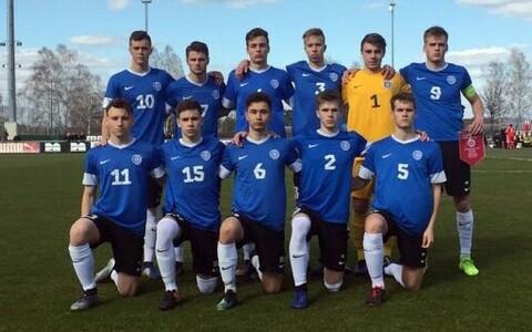 Eesti U-19 noormeeste jalgpallikoondis