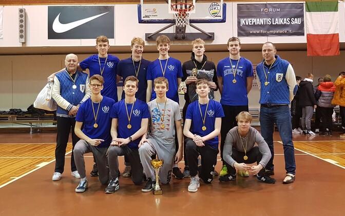 TTÜ Korvpallikooli U-17 võistkond.