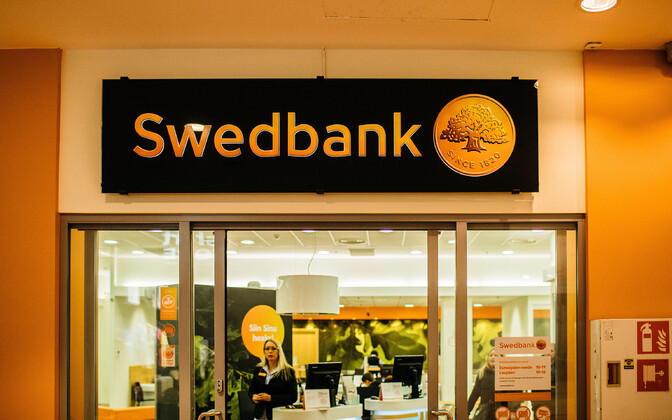A Swedbank branch in Estonia.