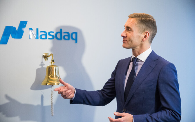 CEO of Nasdaq Tallinn Kaarel Ots.