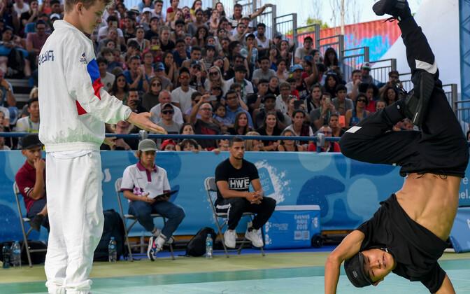Breiktants noorte olümpiamängudel.