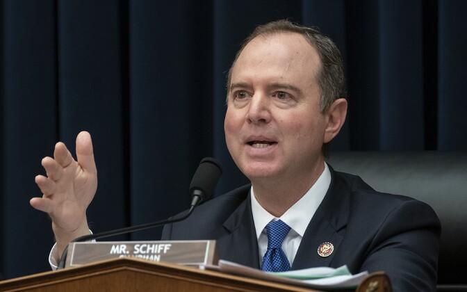 USA esindajatekoja luurekomitee esimees Adam Schiff.