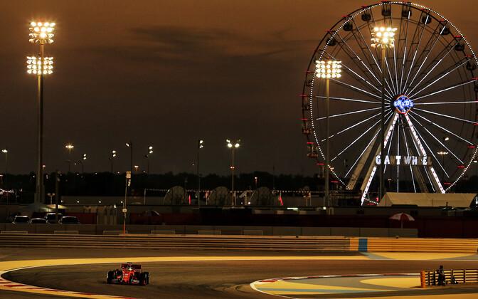 Sebastian Vettel Bahreini GP-etapi teisel vabatreeningul