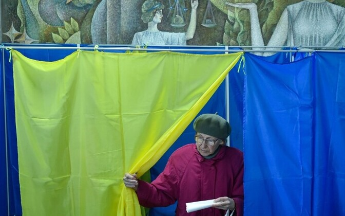 Граждане Украины делают свой выбор.