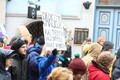 Hundreds of people protested in Tallinn on Sunday against politicians threatening to curb their freedoms. 31 March 2019.