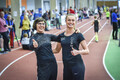 TV 10 Olümpiastarti 3. etapp. 3000 m jooksu Eesti rekordinaine Ille Kukk ja 3000 m kiiruisutamise rekordinaine Saskia Alusalu.