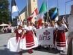 Irish folk dance troupe Iiris at the 2014 Estonian Song and Dance Festival in Tallinn. July 2014.