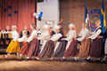 Finland-based folk dance troupe Vingerpussid performing at Estival in Stockholm.