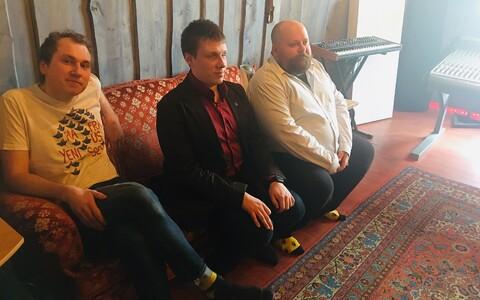 Martin Kikas, Jakob Rosin ja Jaan Pehk