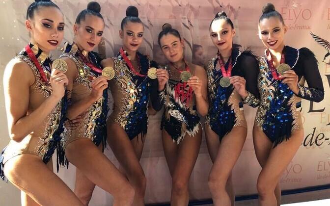Eesti rühmkava koondis võidetud medalitega