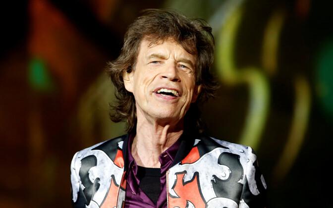 Mick Jagger 2018. aastal Prantsusmaal.
