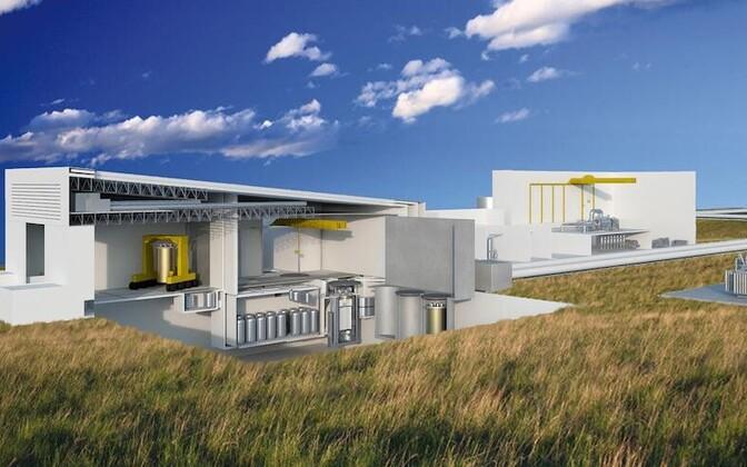 Nii võiks näha välja tulevikus Terrestrial Energy tuumajaam.