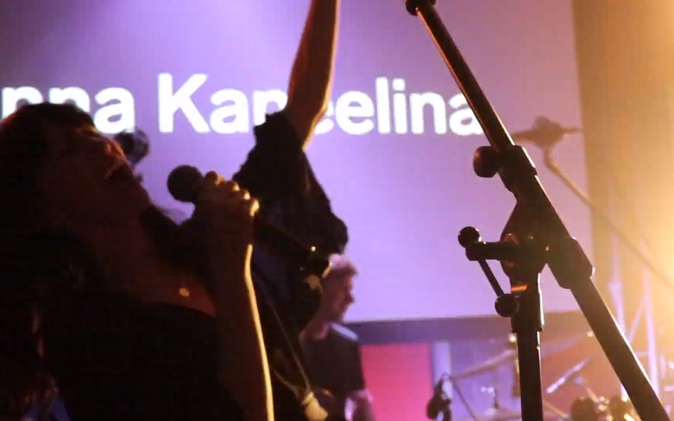 Anna Kaneelina Telliskivi loomelinnakus TMW üritusel Made In Baltics & Sony Music Night.