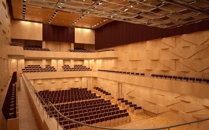 Новый концертный зал Эстонской академии музыки и театра.