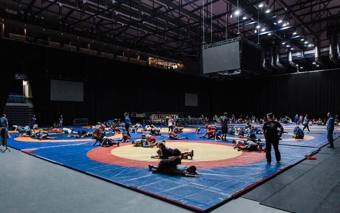 Maadlusfestival Estonian Wrest Fest jätkub rahvusvahelise maadluslaagriga