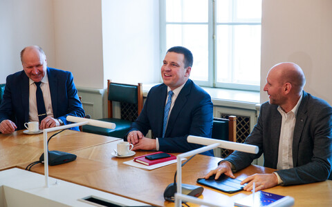 Jüri Ratas (Centre and centre) has led the coalition talks confidently. Even if it doesn't come to fruition, his stock is high.