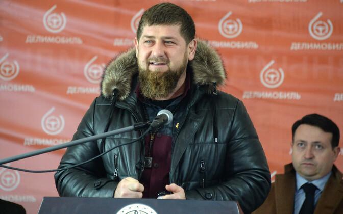 Tšetšeenia juht Ramzan Kadõrov.