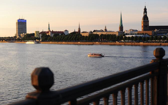 Läti pealinn Riia.