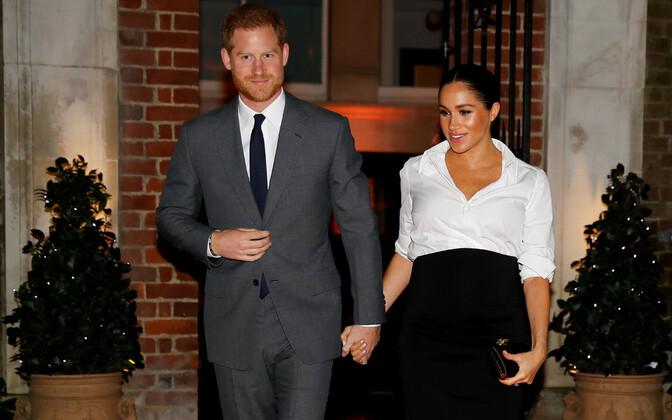 Prints Harry ja hertsoginna Meghan