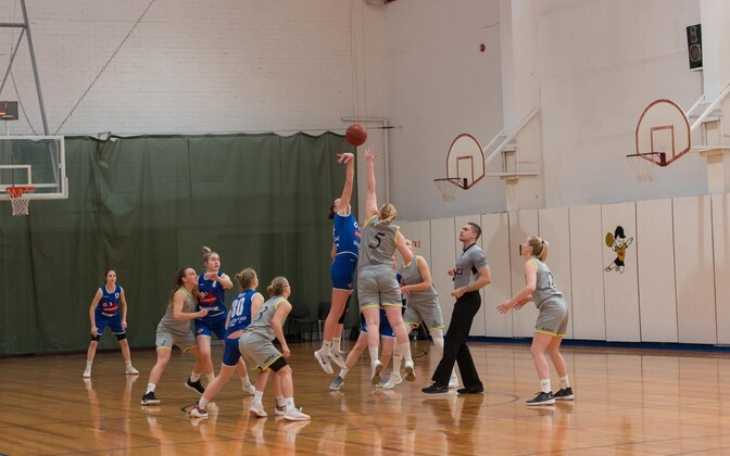Tallinna Ülikooli korvpallinaiskond - G4S Noorteliiga