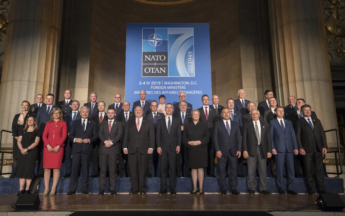 NATO 70th anniversary meeting. 4 April 2019.