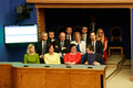 Outgoing coalition cabinet stands down at the Riigikogu on Thursday.