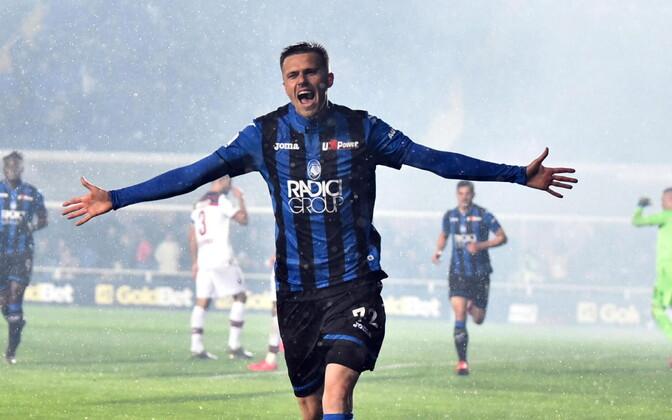 Josip Ilicic lõi neljapäeval Atalanta kaks esimest väravat