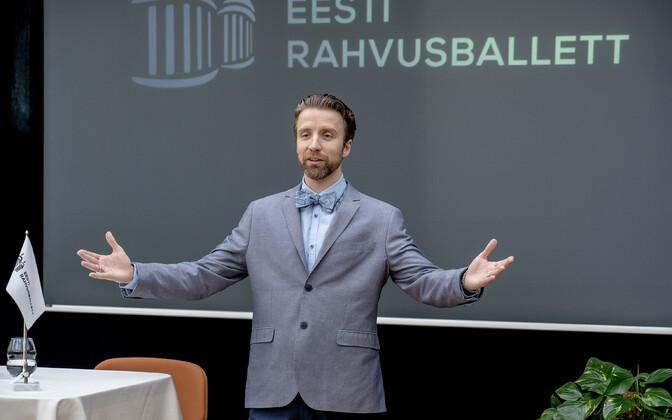 Eesti Rahvusballeti uus juht Linnar Looris tuvustas end estoonlastele.