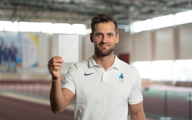 Täna astuvad sportlased valge kaardiga kiusamise vastu, Magnus Kirt