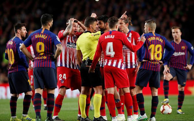 FC Barcelona - Madridi Atletico